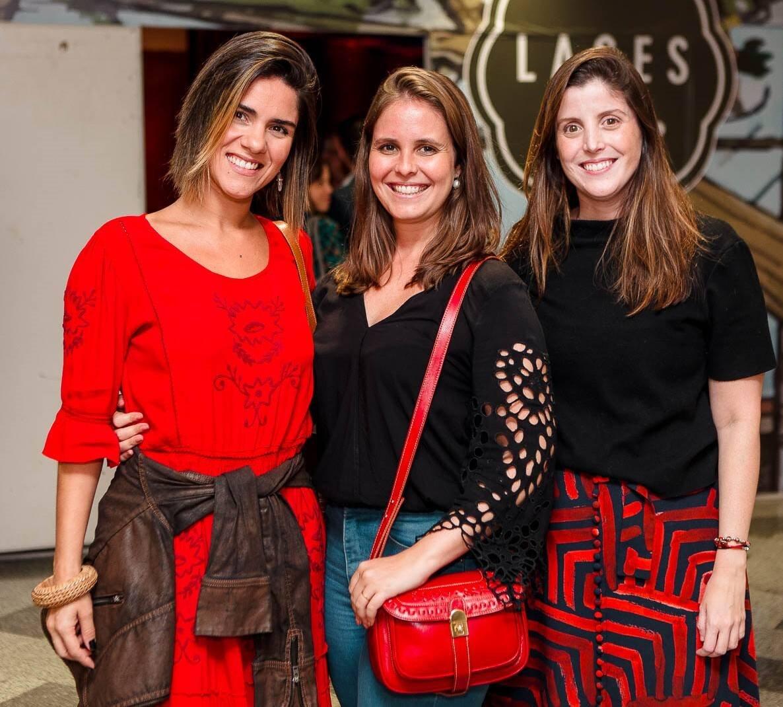 Gabi Garcia, Manoela Ferreira e Luiza de Orleans e Bragança /Foto: Bruno Ryfer