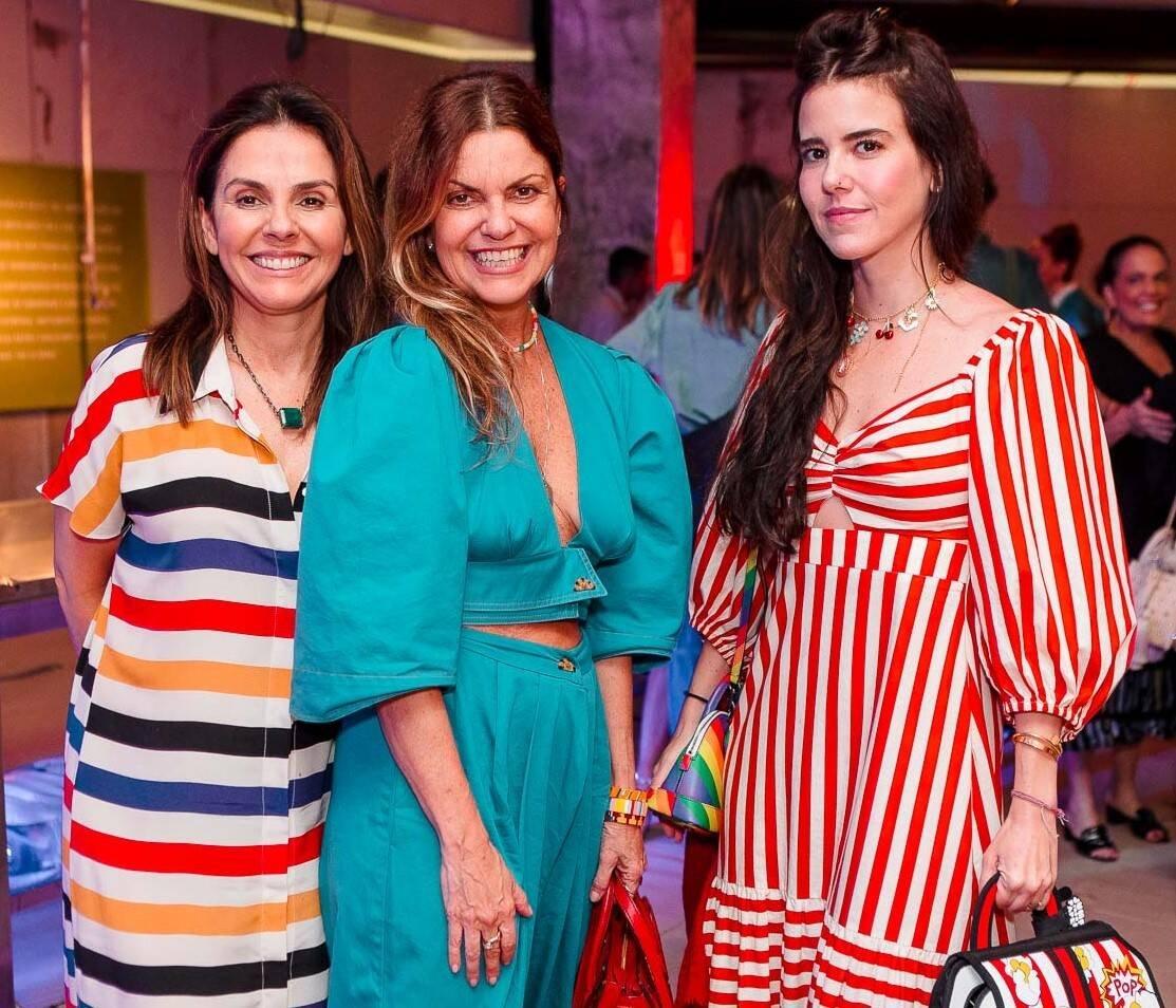 Geiza Rabello, Ana Dias Zander e Lu Novis /Foto: Bruno Ryfer
