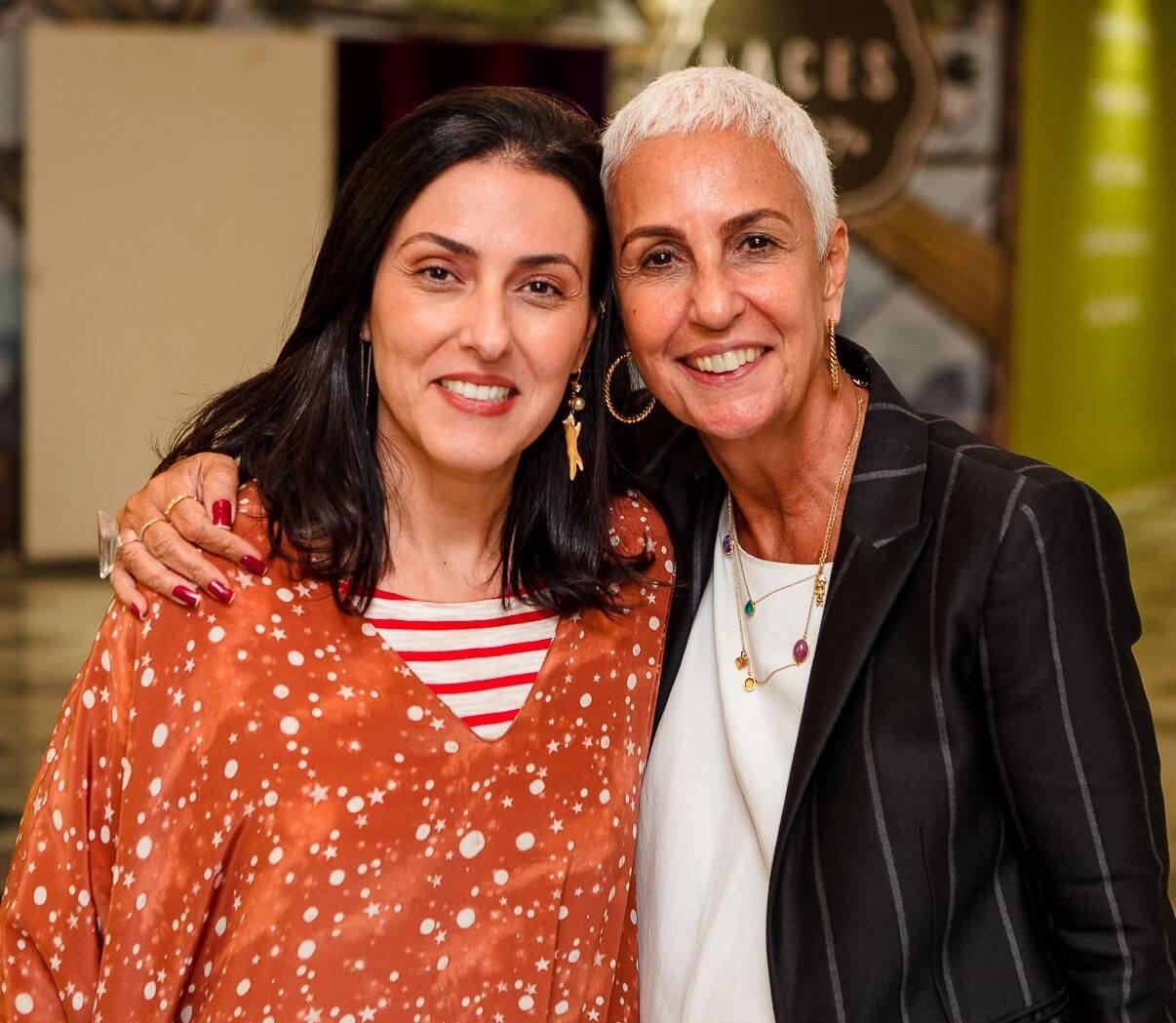 Helena Augusta e Lalá Guimarães /Foto: Bruno Ryfer