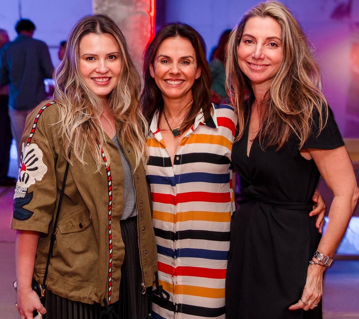 Aline Moniz Geiza Rabello e Renata Reis /Foto: Bruno Ryfer