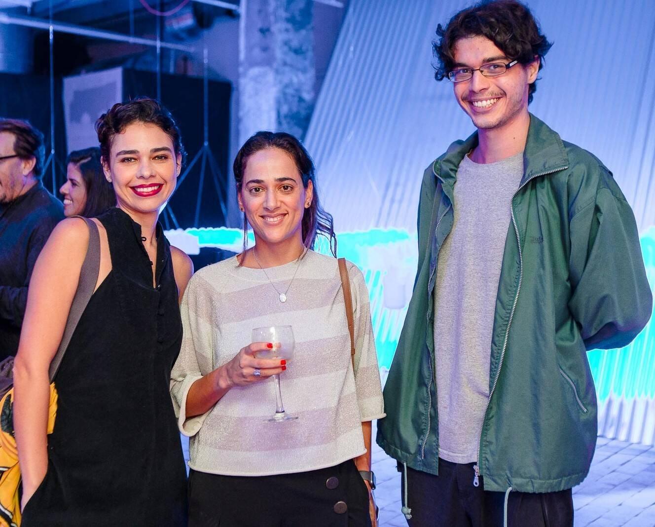 Maria Duarte, Beta Mellin e João Wladmiri Bernardes /Foto: Bruno Ryfer