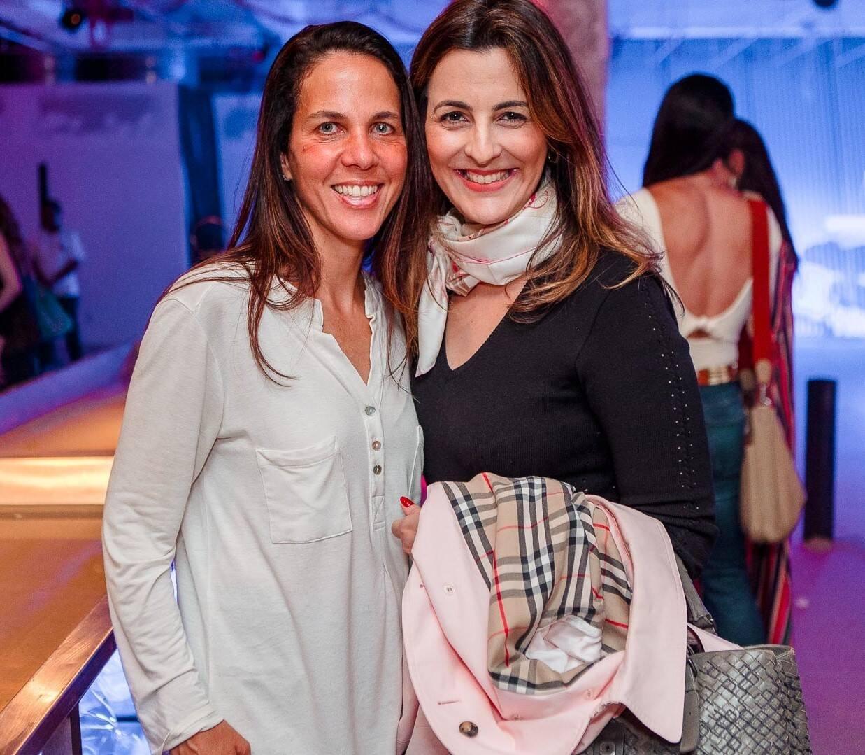 Marta Fadel e Cristiana Velasco /Foto: Bruno Ryfer