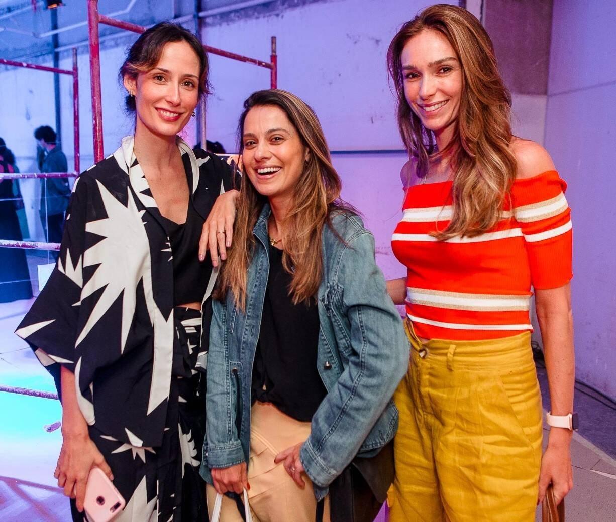 Renata Assunção, Gabrielle Zitelmann e Lilian Pieroni /Foto: Bruno Ryfer