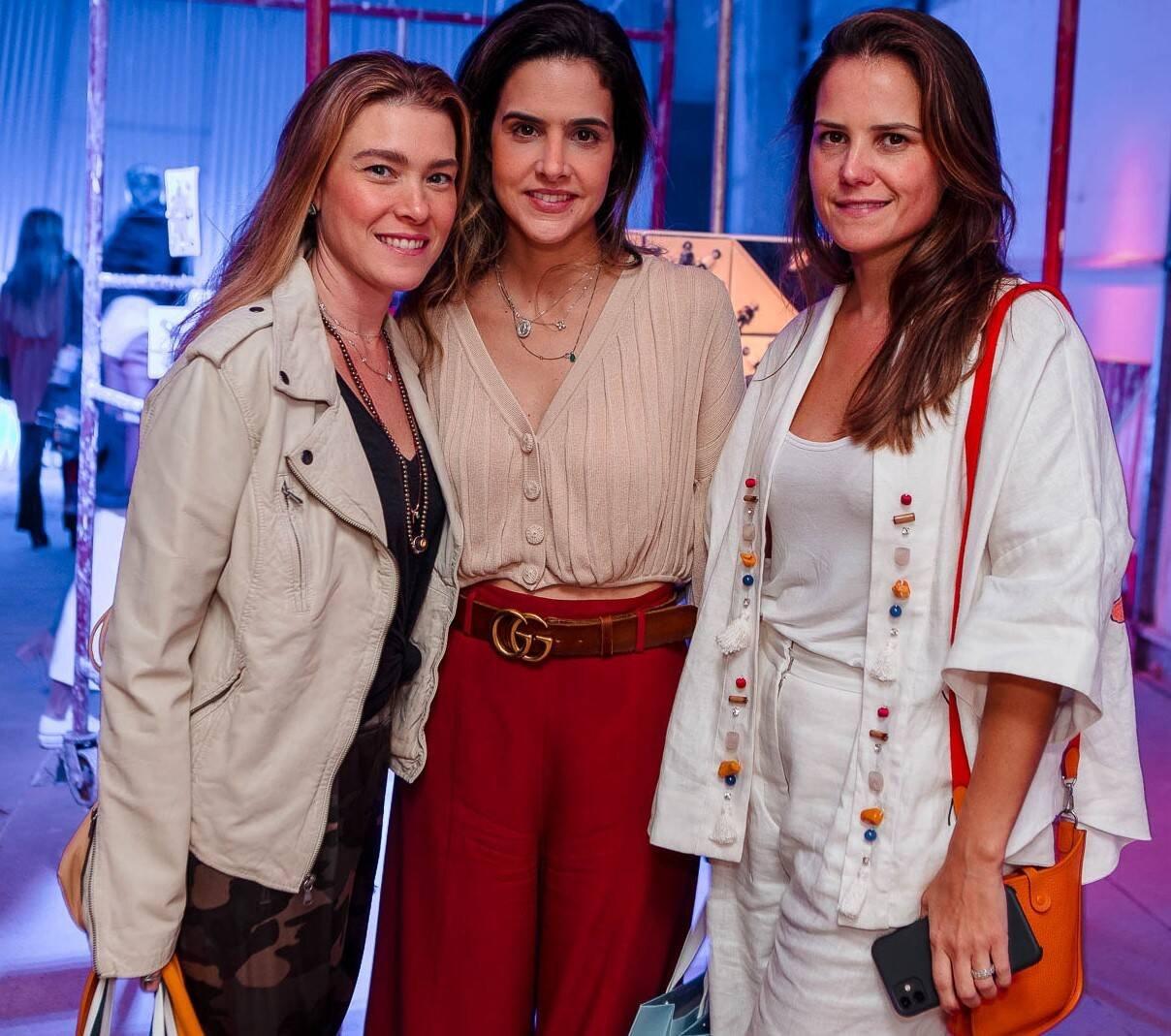 Tatiana Gouveia, Andreia Palhares e Carola Gouveia Vieira /Foto: Bruno Ryfer