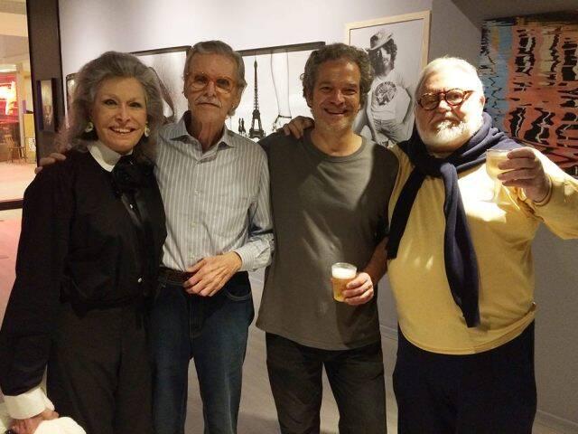 Gisella Amaral, Paulo Garcez, Joaquim Nabuco e Ricardo Amaral