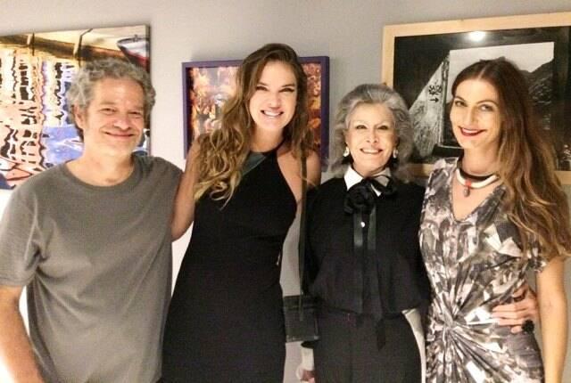 Joaquim Nabuco, Leticia Birkheur, Gisella Amaral e Deyse Krieger