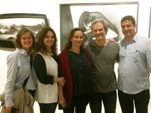 Evelina Nabuco, Cristiana Renault, Sylvia Braga, Joaquim Nabuco e Claudio Nabuco