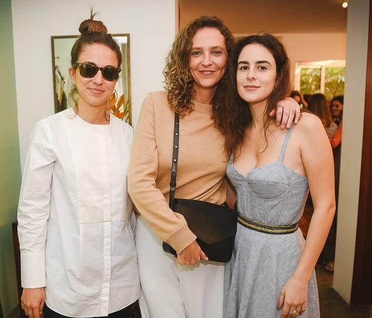 Isadora Ganem, Taciana Birman e Gabriella Paschoal