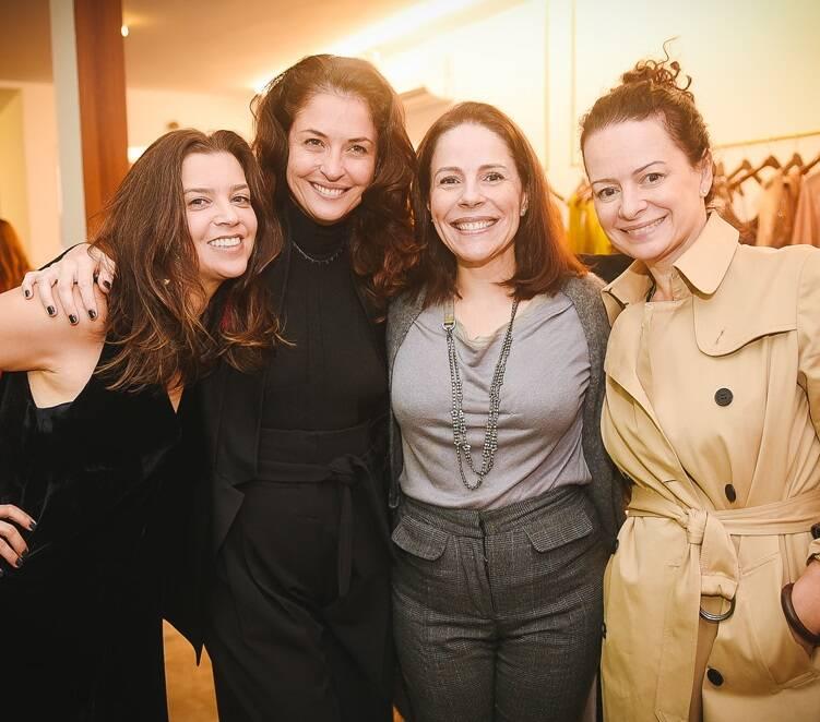 Marcia Martins, Marta Macedo, Marília Medina e Andrea Marques
