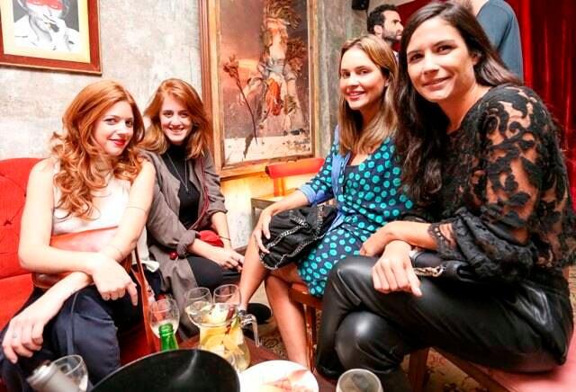 Giovanna Kelly, Cecília Geyer, Alexia Mayer e Paula Landau