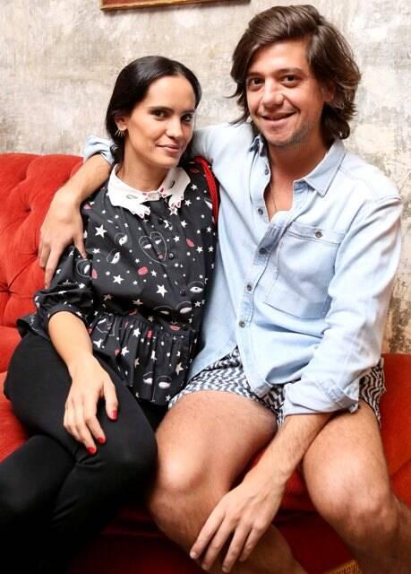 Gisela Pecego e Pedro Rosman