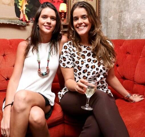 Jeannine Crepon e Ana Paula Ferraz Rabello