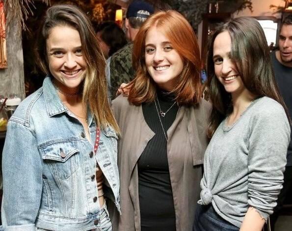 Maria Teixeira de Mello, Cecília Geyer e Isabel Teixeira de Mello
