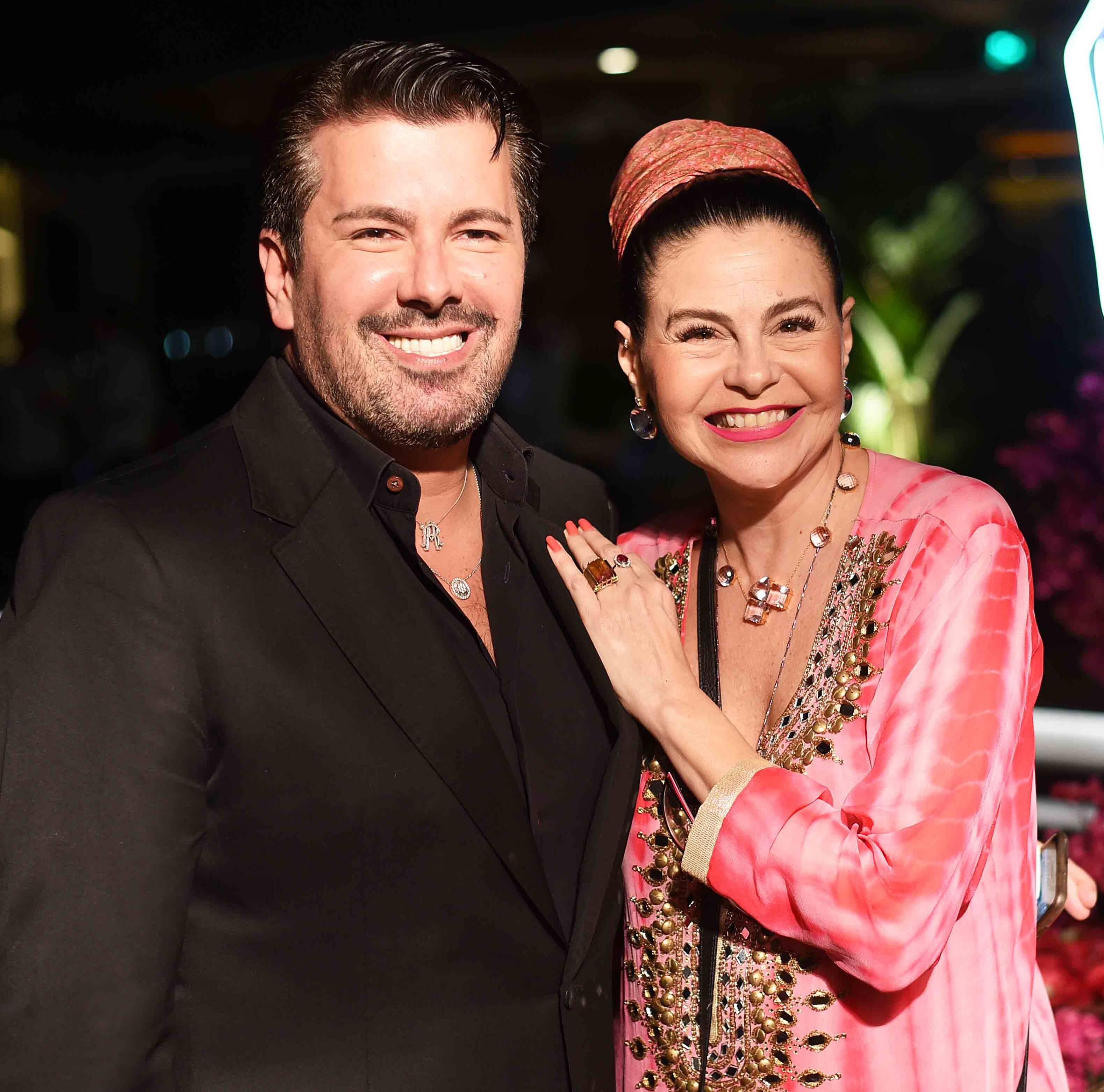 André Ramos e Iara Figueiredo /Foto: Ari Kaye