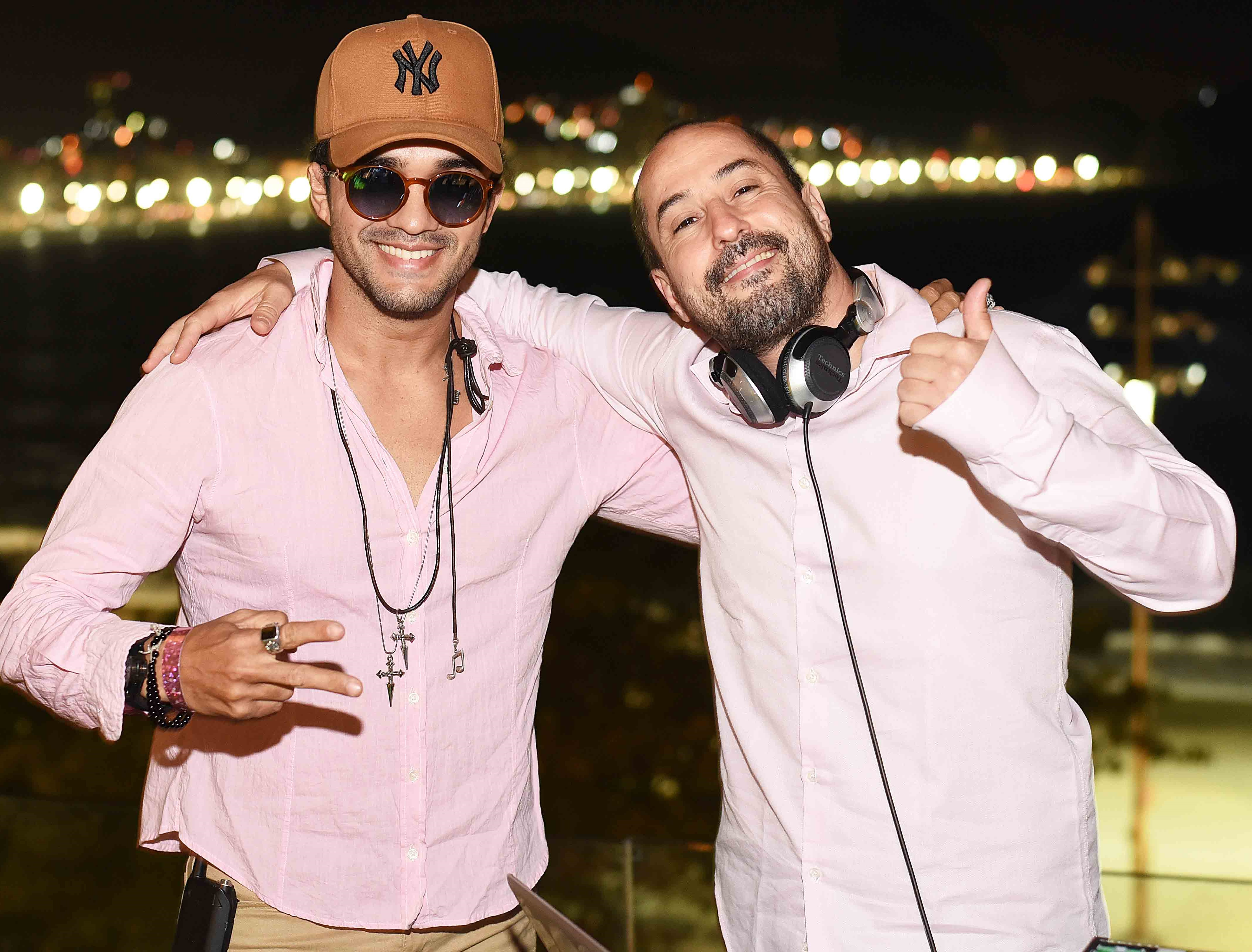 Ryon e DJ Marcelinho Da Lua /Foto: Ari Kaye