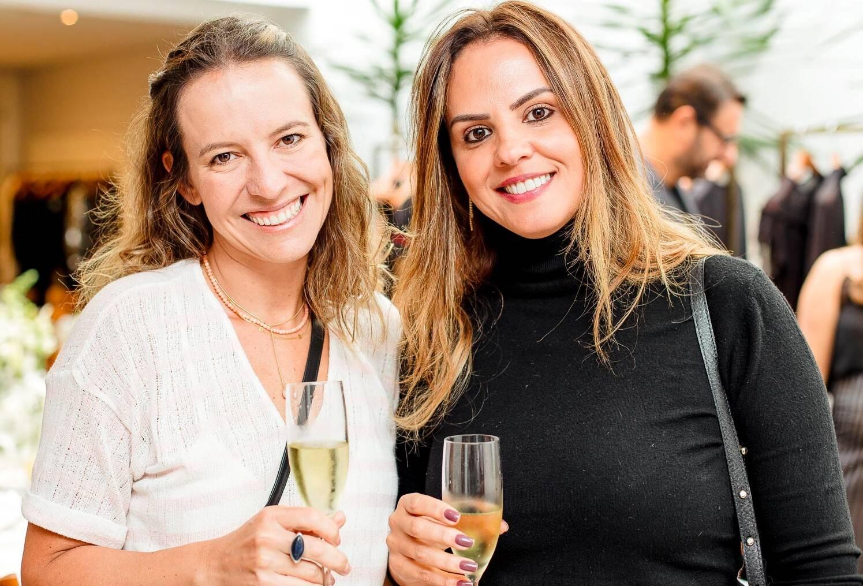 Cris Ruiz Vianna e Michelle Novaes  /Foto:  Bruno Ryfer