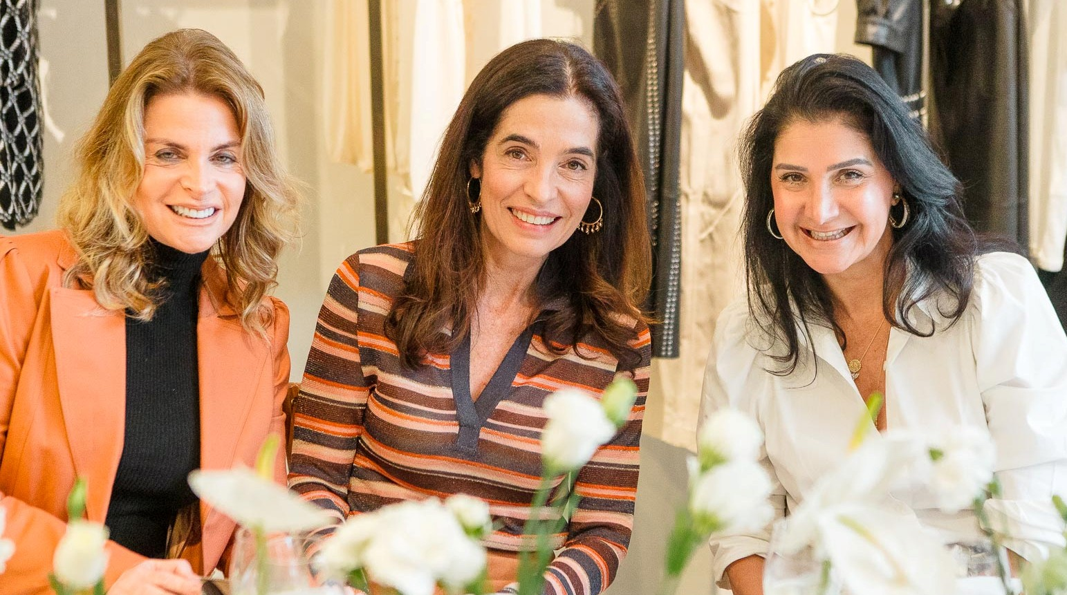 Tania Coslovsky, Rosane Nachbar e Gilza Veloso /Foto:  Bruno Ryfer