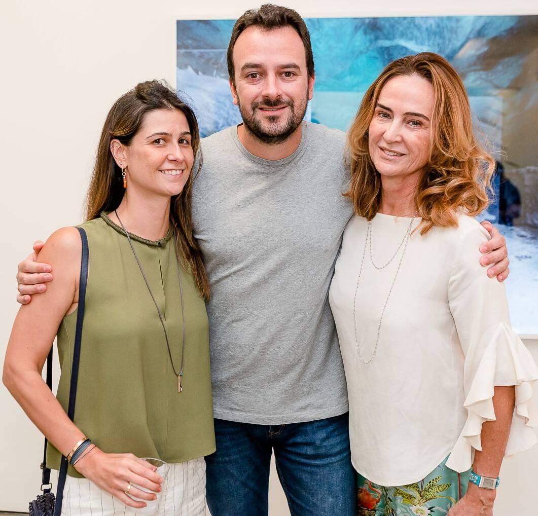 Paula Zyngier , Michel Zyngier e Marcia Zyngier  /Foto: Bruno Ryfer