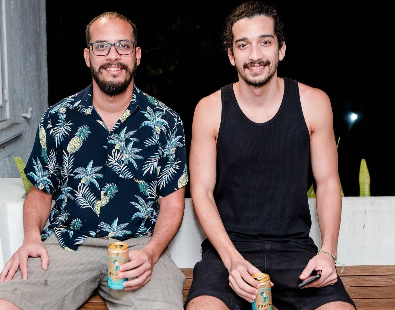 Paulo Tavares e Marcos Tavares  /Foto: Bruno Ryfer