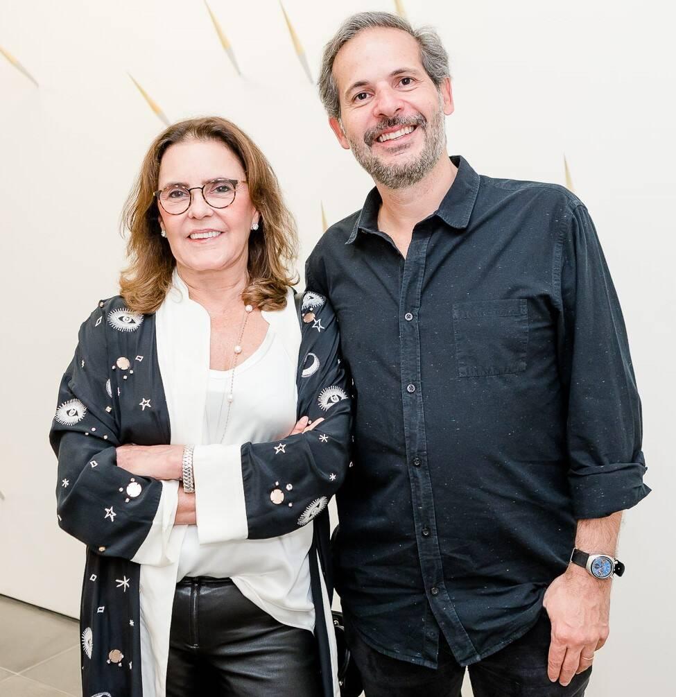Vera Andrade e Alexandre Roesler  /Foto: Bruno Ryfer