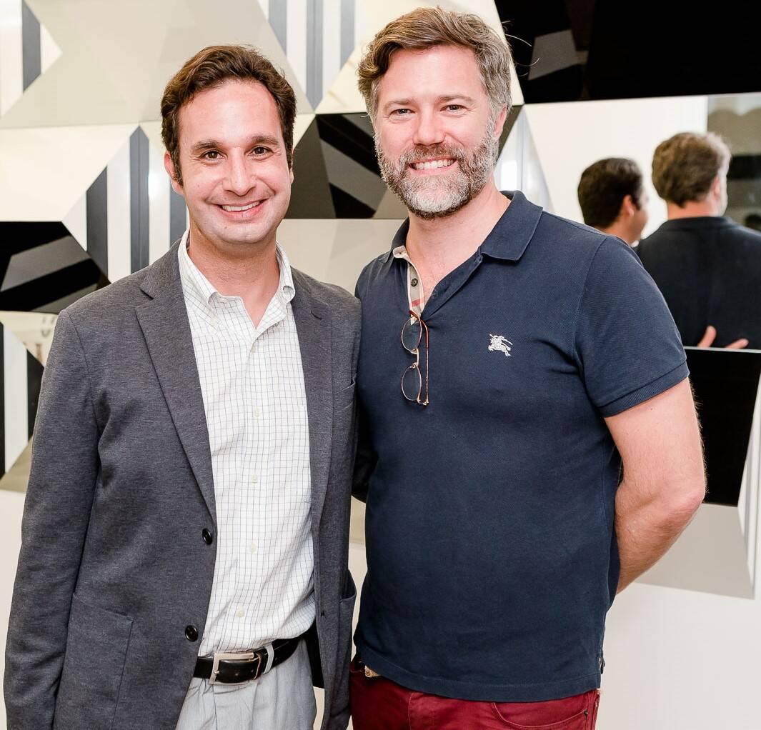 Daniel Soares  e Fred  Bulow Ulson  /Foto: Bruno Ryfer