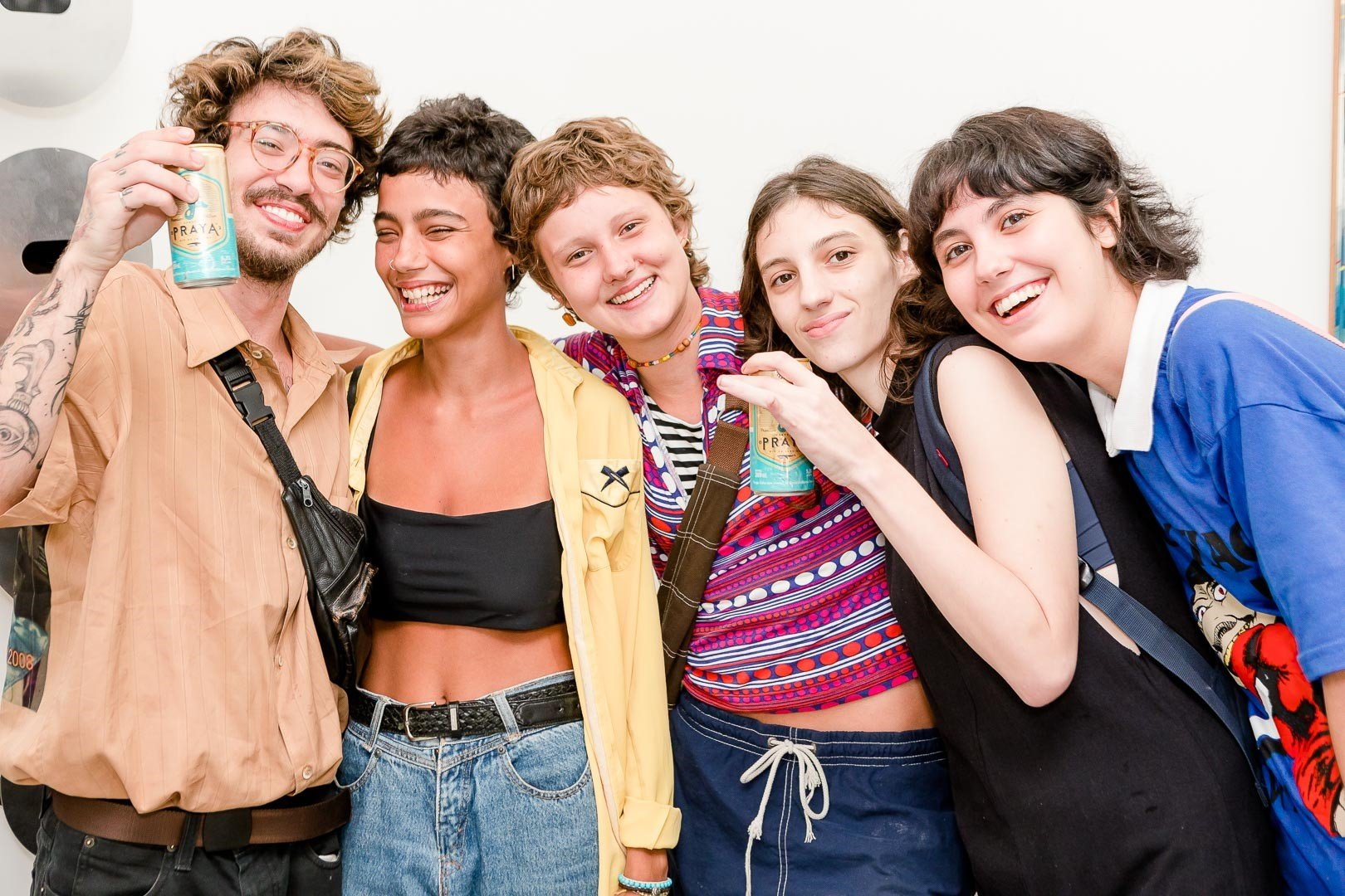 João Augusto Muniz , Manoela Pessoa, Joana Galli, Ana Botner e  Isadora Schtruk  /Foto: Bruno Ryfer
