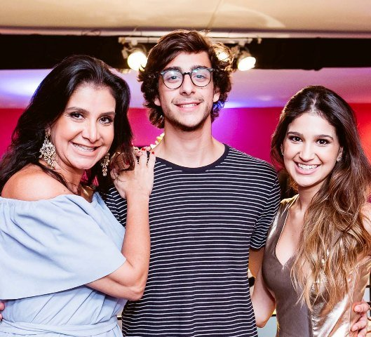 Gilza Velloso, João Marcelo Velloso Birmarcker e Ana Gabriela Lage