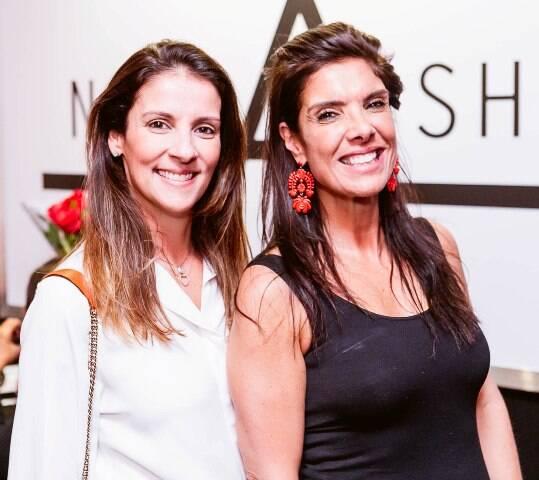 Laura Paes e Patricia Brandão