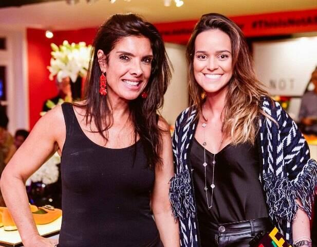 Patricia Brandão e Sabine Arias