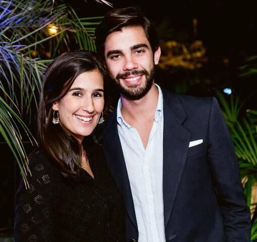 Paula Bandeira e João Mendrado