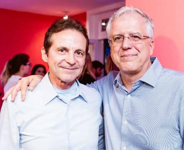 Renato Rique e José Lage