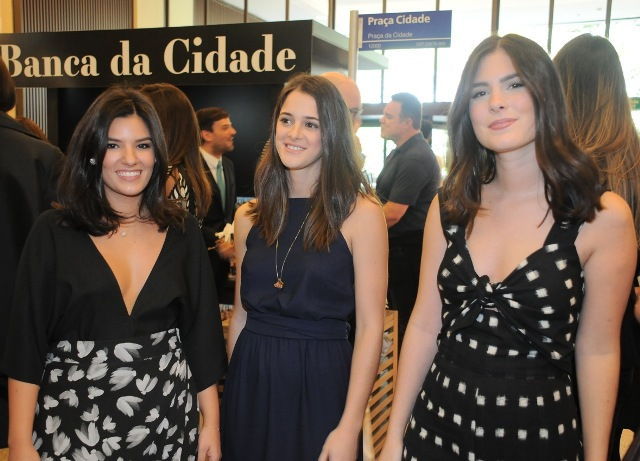 Andrea Vieira, Carolina Ferraz e Marília Mello