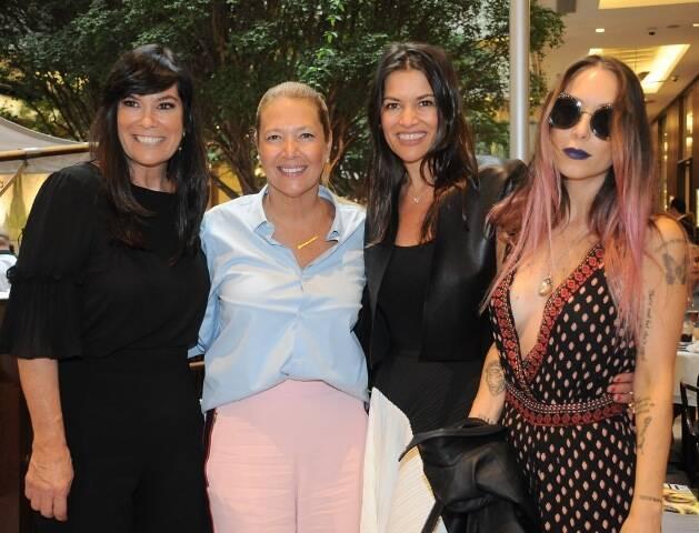 Betina Becker, Donata Meirelles, Nora Teixeira Grendene e Carol Teixeira