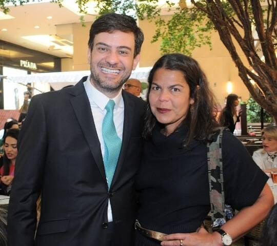 Bruno Astuto e Daniela Falcão