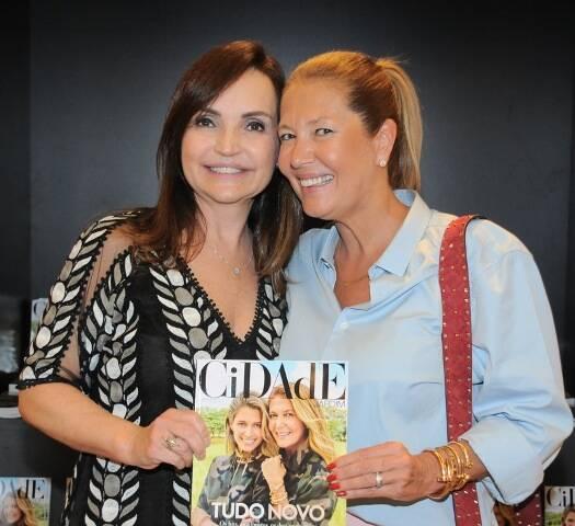 Carla Fleury e Donata Meirelles
