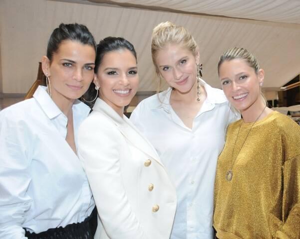 Fernanda Motta, Mariana Rios, Celina Locks e Helena Bordon