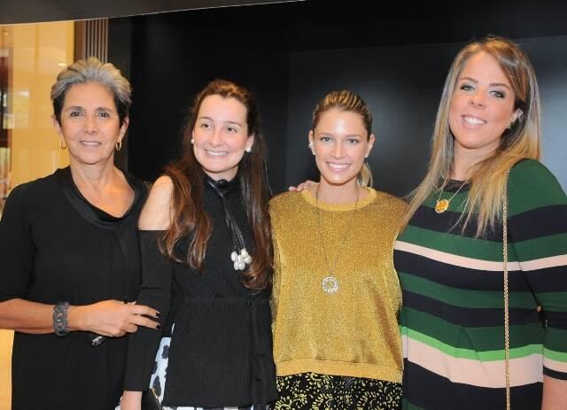 Patrizia Ramalho, Eleonora Xando, Helena Bordon e Patsy Scarpa