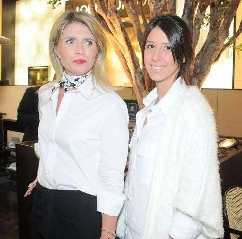 Tathiana Souza Aranha e Maria Di Pace