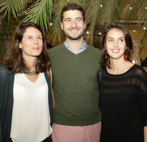 Constance Albanel, Miguel Corrêa do Lago e Alexia Ohannessian