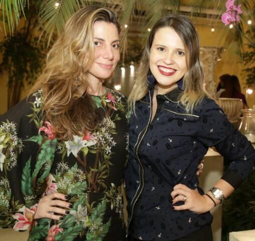 Renata Reis e Aline Moniz