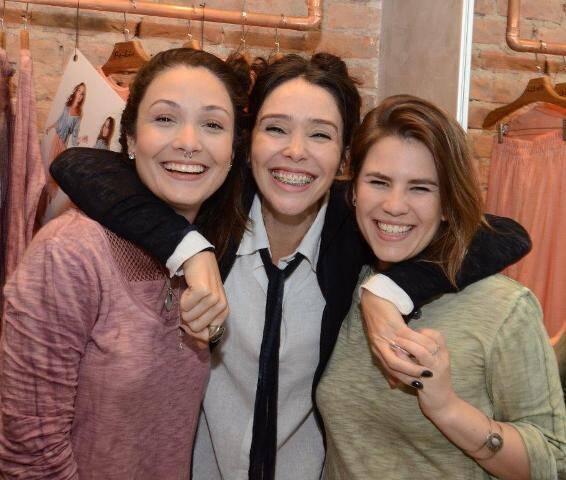 Gabriela Gava, Fernanda Elisa e Natalia Pasetti