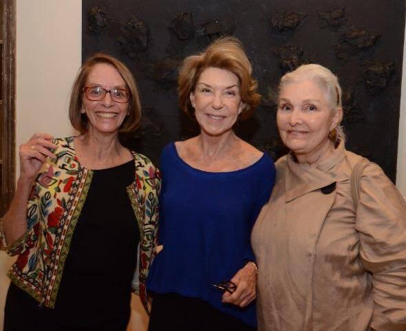 Helô Ferreira, Tança Burity e Martha Lopes Pontes