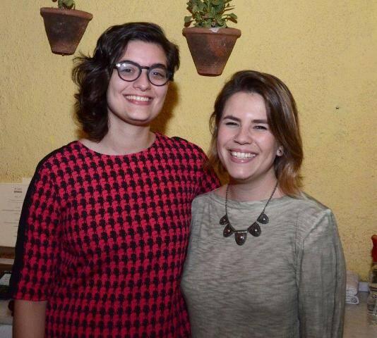 Julia Roseri e Natália Pasetti