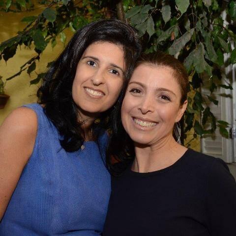Luciana Sève e Claudia Almeida