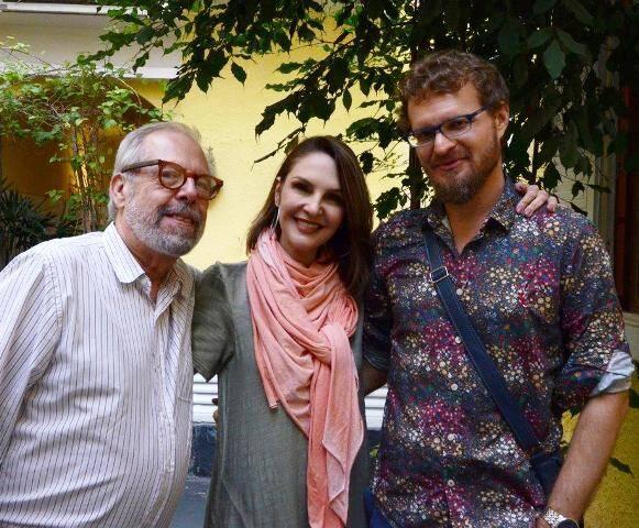 Luiz Áquila, Toia Lemann e Marcelo Backes