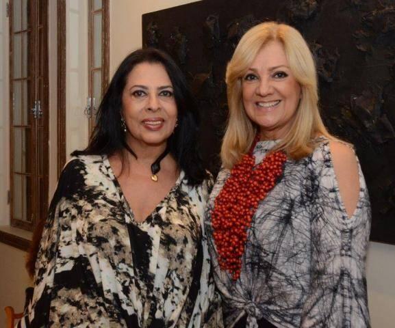 Maria Luiza Mendonça e Alda Soares
