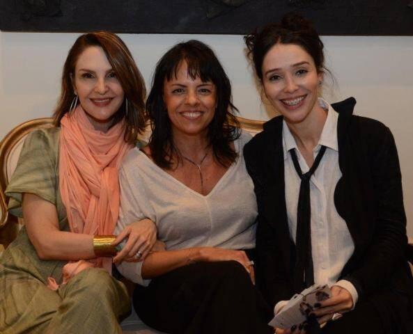 Toia Lemann, Isabela Drummond e Fernanda Elisa