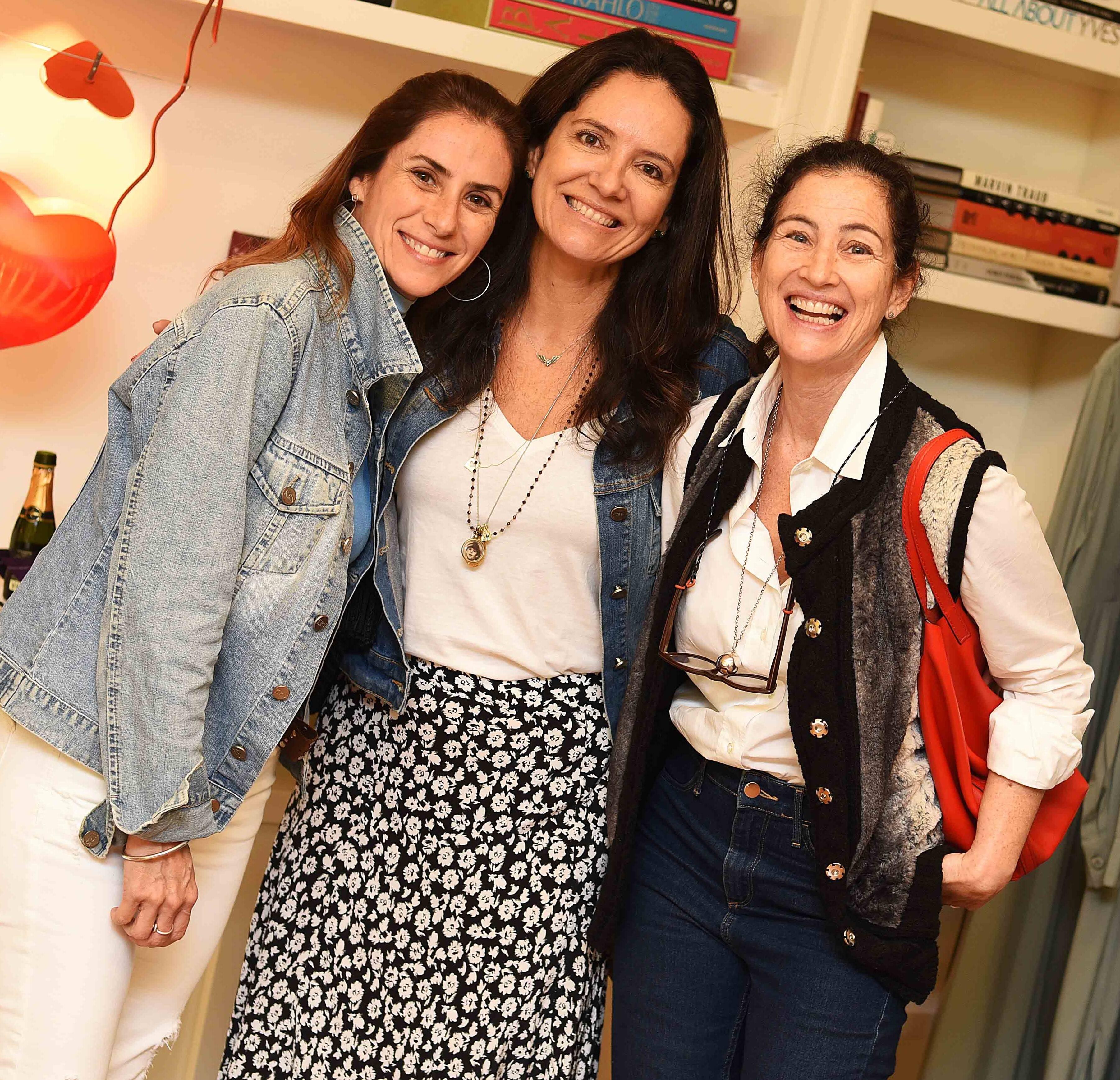 Ana Luiza Osorio, Luciana Bocão e Patricia Barros /Foto: Ari Kaye