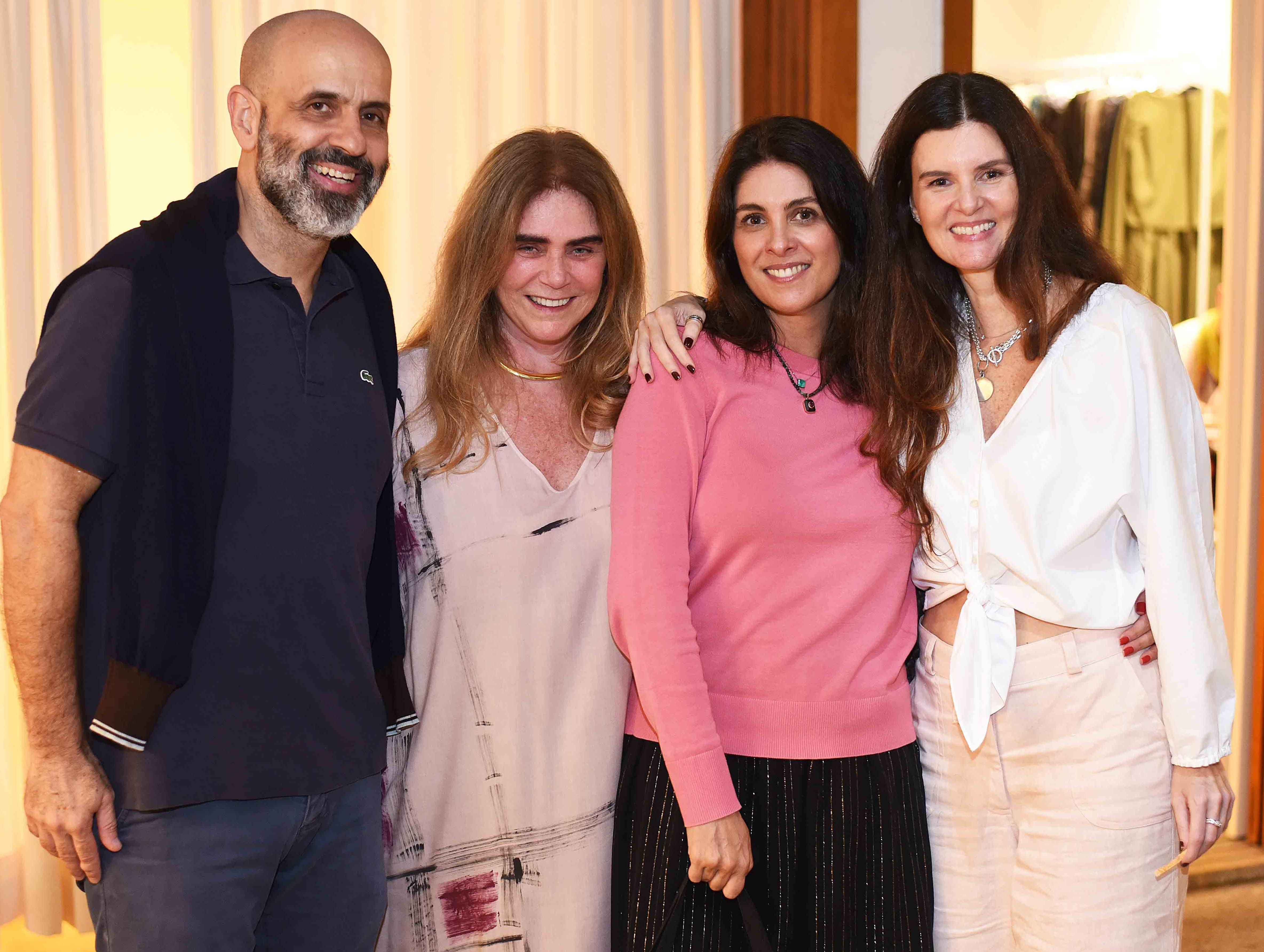 Claudio Gomes, Maria Cecilia Brafman, Ana Gabriela Vianna e Manuela Noronha /Foto: Ari Kaye