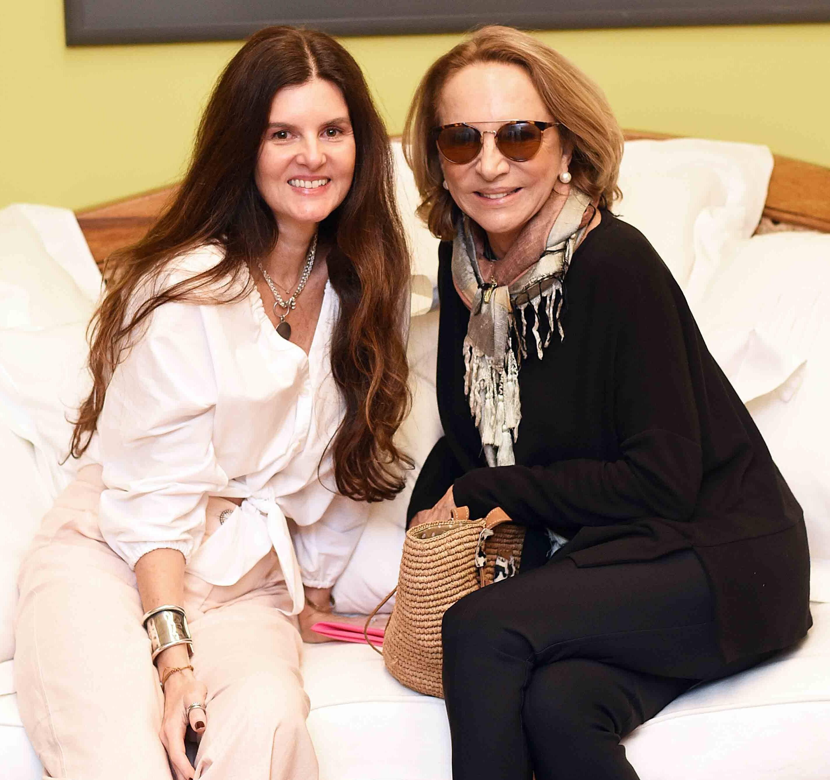 Manuela Noronha e Lenny Niemeyer /Foto: Ari Kaye